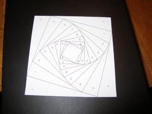 Square Iris Template