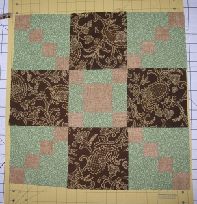 Finished table topper