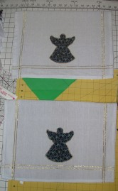 Embellished tea towels
