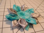 Fun little fabric flower I sewed up