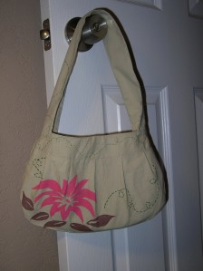 Completed purse