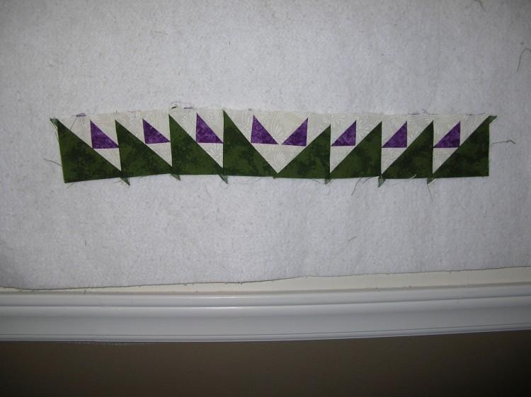 Wall hanging border