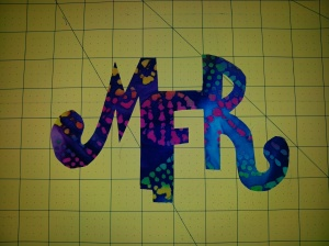 Fun Fabric Monogram