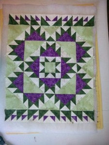 Finished Wallhanging