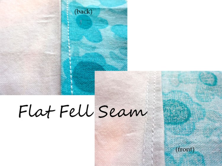 Flat Fell Seams