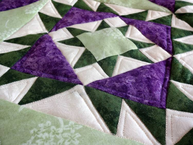 Wall hanging quilting