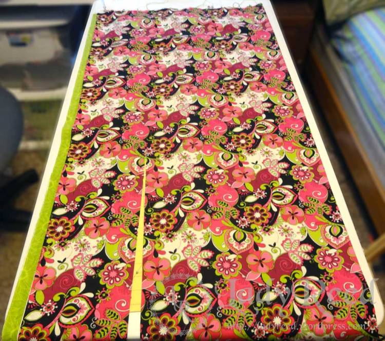 Cutting fabric for Ring Sling