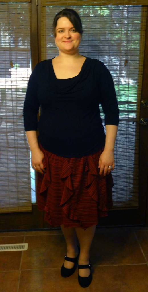 Me Made May Week 3 - Gored Skirt